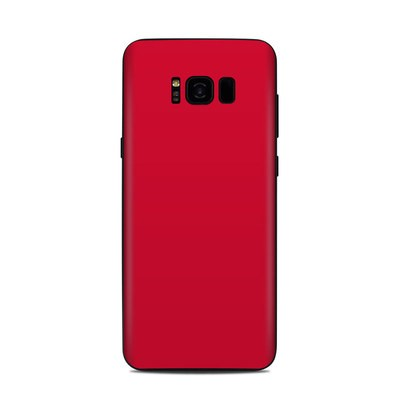 Samsung Galaxy S8 Plus Skin - Solid State Red