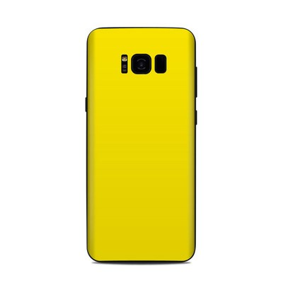 Samsung Galaxy S8 Plus Skin - Solid State Yellow