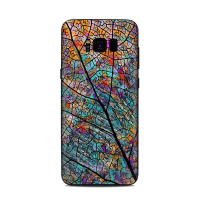 Samsung Galaxy S8 Plus Skin - Stained Aspen