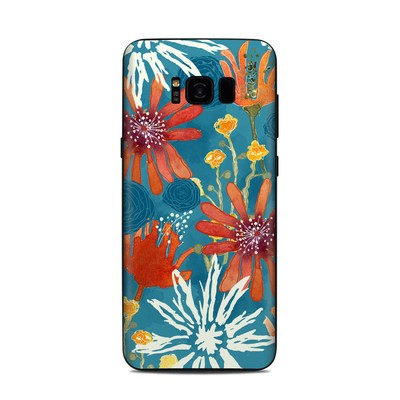 Samsung Galaxy S8 Plus Skin - Sunbaked Blooms