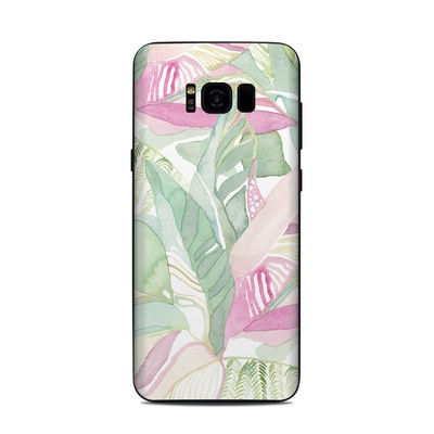 Samsung Galaxy S8 Plus Skin - Tropical Leaves