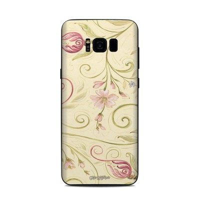 Samsung Galaxy S8 Plus Skin - Tulip Scroll