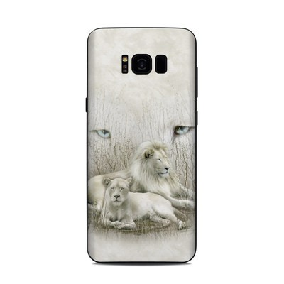 Samsung Galaxy S8 Plus Skin - White Lion