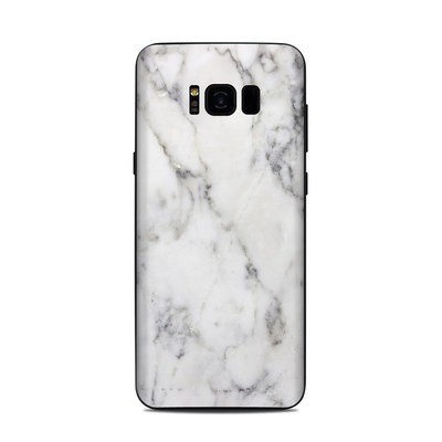 Samsung Galaxy S8 Plus Skin - White Marble