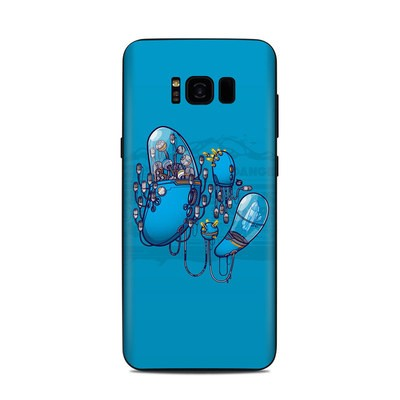 Samsung Galaxy S8 Plus Skin - Workflow