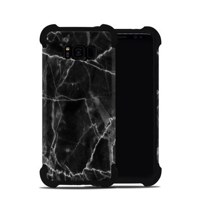 Samsung Galaxy S8 Plus Bumper Case - Black Marble