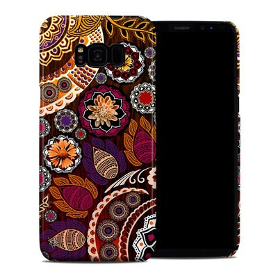 Samsung Galaxy S8 Plus Clip Case - Autumn Mehndi