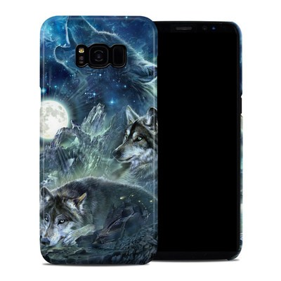 Samsung Galaxy S8 Plus Clip Case - Bark At The Moon