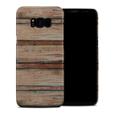 Samsung Galaxy S8 Plus Clip Case - Boardwalk Wood