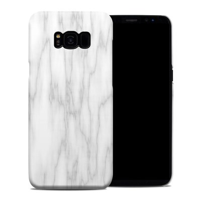 Samsung Galaxy S8 Plus Clip Case - Bianco Marble