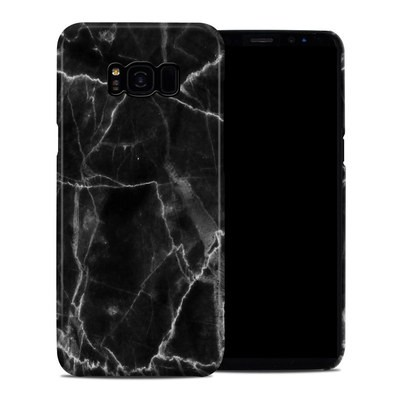 Samsung Galaxy S8 Plus Clip Case - Black Marble
