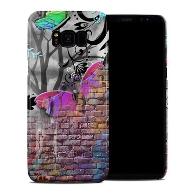 Samsung Galaxy S8 Plus Clip Case - Butterfly Wall