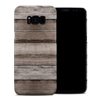 Samsung Galaxy S8 Plus Clip Case - Barn Wood