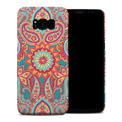 Samsung Galaxy S8 Plus Clip Case - Carnival Paisley