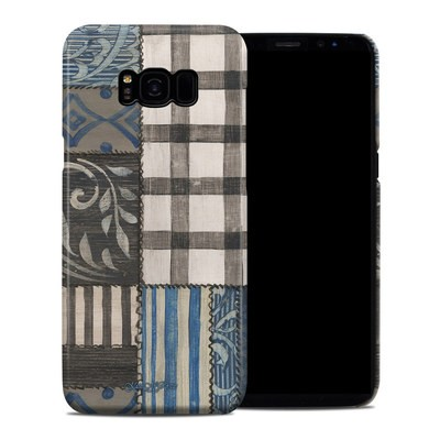 Samsung Galaxy S8 Plus Clip Case - Country Chic Blue