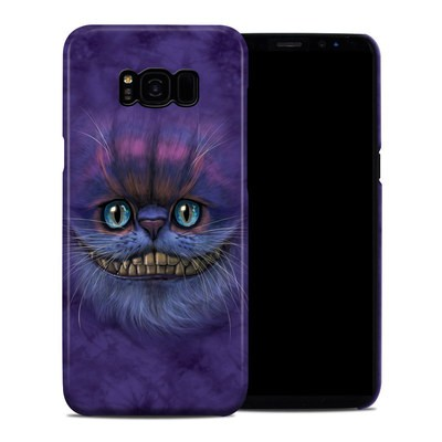 Samsung Galaxy S8 Plus Clip Case - Cheshire Grin