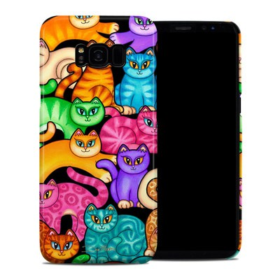 Samsung Galaxy S8 Plus Clip Case - Colorful Kittens