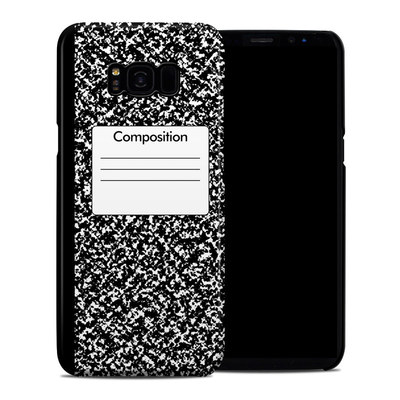 Samsung Galaxy S8 Plus Clip Case - Composition Notebook