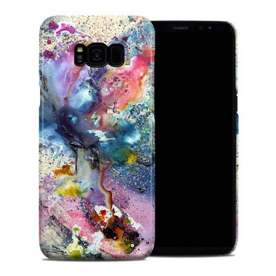Samsung Galaxy S8 Plus Clip Case - Cosmic Flower