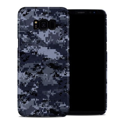 Samsung Galaxy S8 Plus Clip Case - Digital Navy Camo