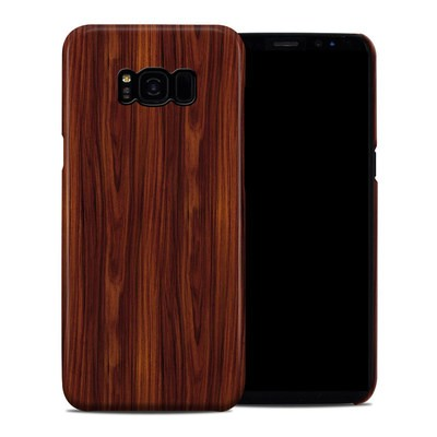 Samsung Galaxy S8 Plus Clip Case - Dark Rosewood