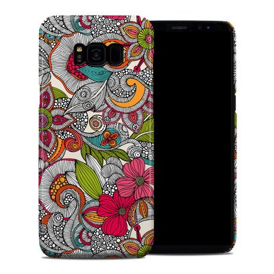 Samsung Galaxy S8 Plus Clip Case - Doodles Color