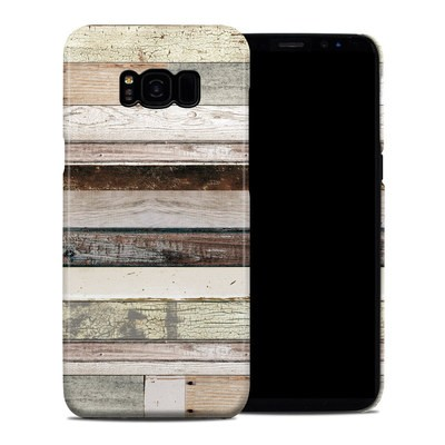 Samsung Galaxy S8 Plus Clip Case - Eclectic Wood
