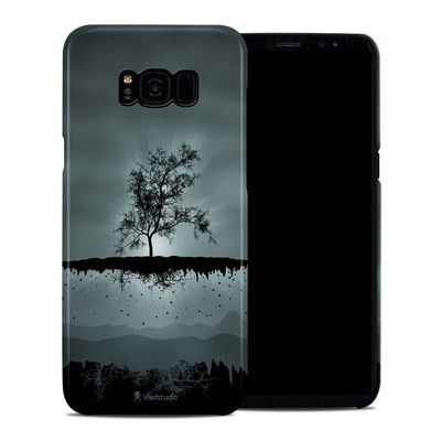 Samsung Galaxy S8 Plus Clip Case - Flying Tree Black