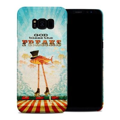 Samsung Galaxy S8 Plus Clip Case - God Bless The Freaks