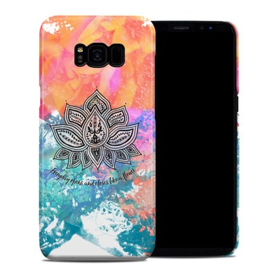Samsung Galaxy S8 Plus Clip Case - Happy Lotus