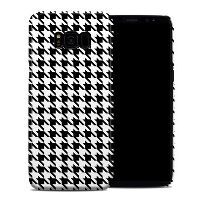 Samsung Galaxy S8 Plus Clip Case - Houndstooth