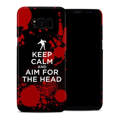Samsung Galaxy S8 Plus Clip Case - Keep Calm - Zombie