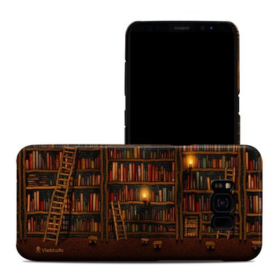 Samsung Galaxy S8 Plus Clip Case - Library