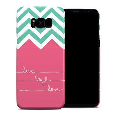 Samsung Galaxy S8 Plus Clip Case - Live Laugh Love