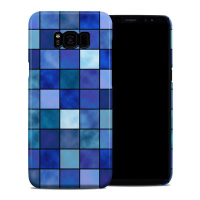 Samsung Galaxy S8 Plus Clip Case - Blue Mosaic