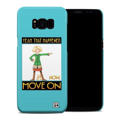 Samsung Galaxy S8 Plus Clip Case - Move On