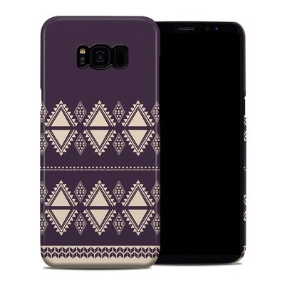 Samsung Galaxy S8 Plus Clip Case - Plum Cozy
