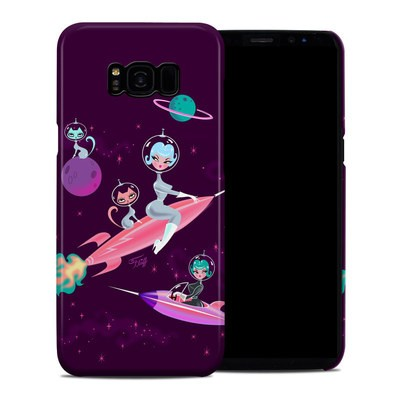 Samsung Galaxy S8 Plus Clip Case - Rocket Girl
