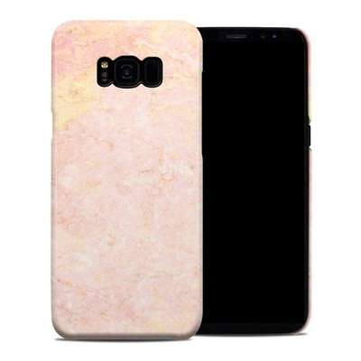 Samsung Galaxy S8 Plus Clip Case - Rose Gold Marble