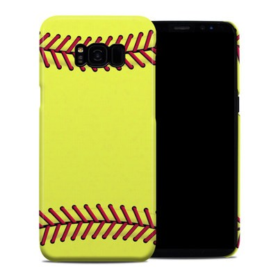 Samsung Galaxy S8 Plus Clip Case - Softball