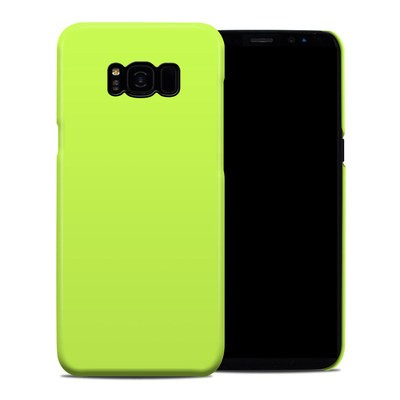 Samsung Galaxy S8 Plus Clip Case - Solid State Lime