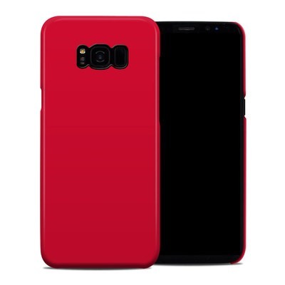 Samsung Galaxy S8 Plus Clip Case - Solid State Red