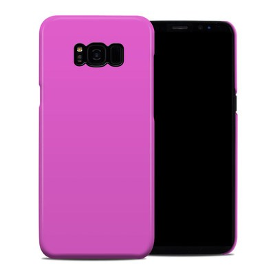 Samsung Galaxy S8 Plus Clip Case - Solid State Vibrant Pink