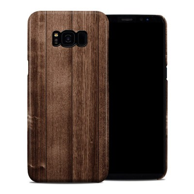 Samsung Galaxy S8 Plus Clip Case - Stained Wood