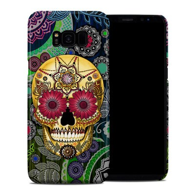 Samsung Galaxy S8 Plus Clip Case - Sugar Skull Paisley