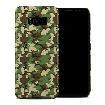 Samsung Galaxy S8 Plus Clip Case - Woodland Camo
