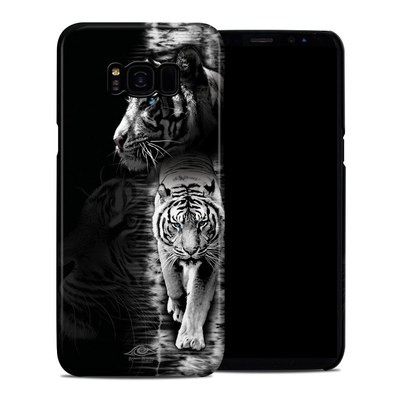 Samsung Galaxy S8 Plus Clip Case - White Tiger