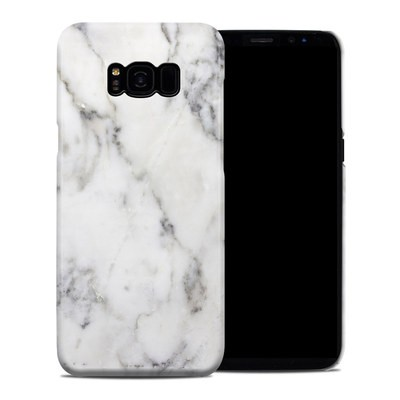 Samsung Galaxy S8 Plus Clip Case - White Marble