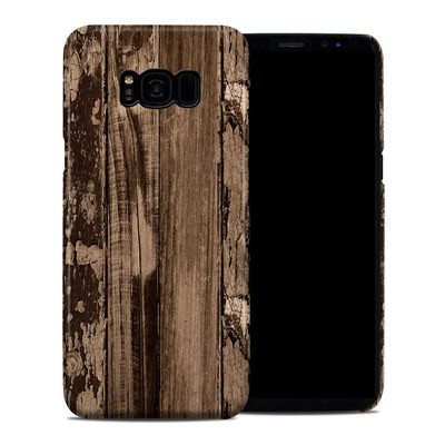 Samsung Galaxy S8 Plus Clip Case - Weathered Wood