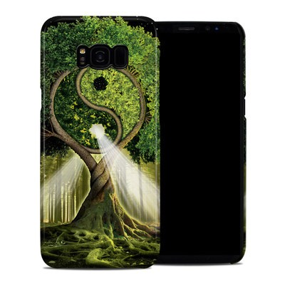 Samsung Galaxy S8 Plus Clip Case - Yin Yang Tree